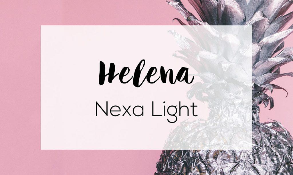 Helena, Nexa, font, digital marketing, brand, grafica, social media