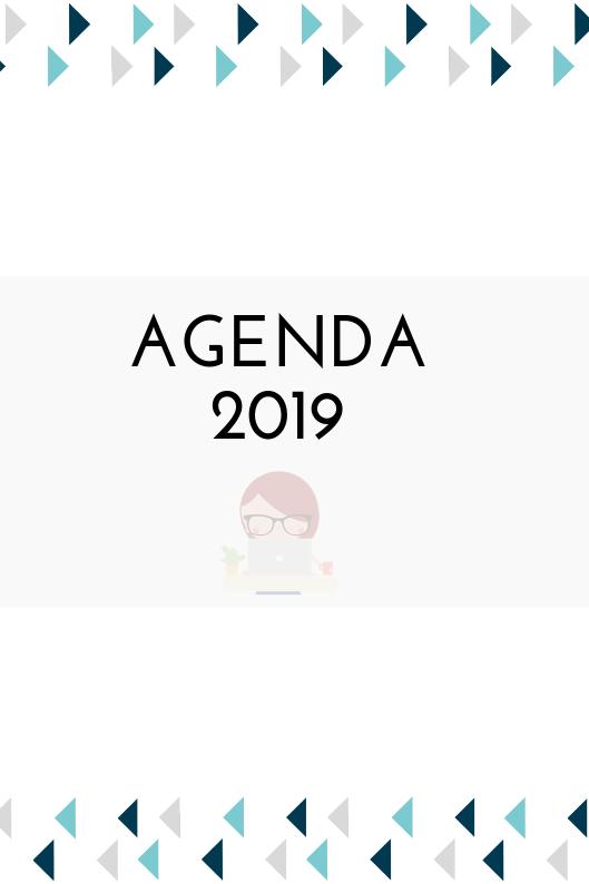 agenda, agenda 2019